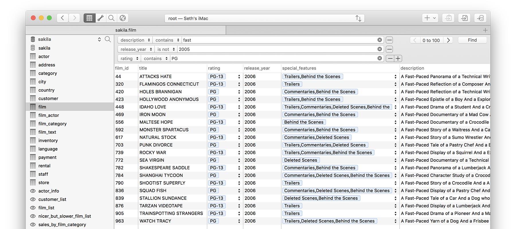 Querious 2.1.11 Mac 破解版 – 数据库管理工具-麦氪派