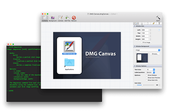 DMG Canvas Icon