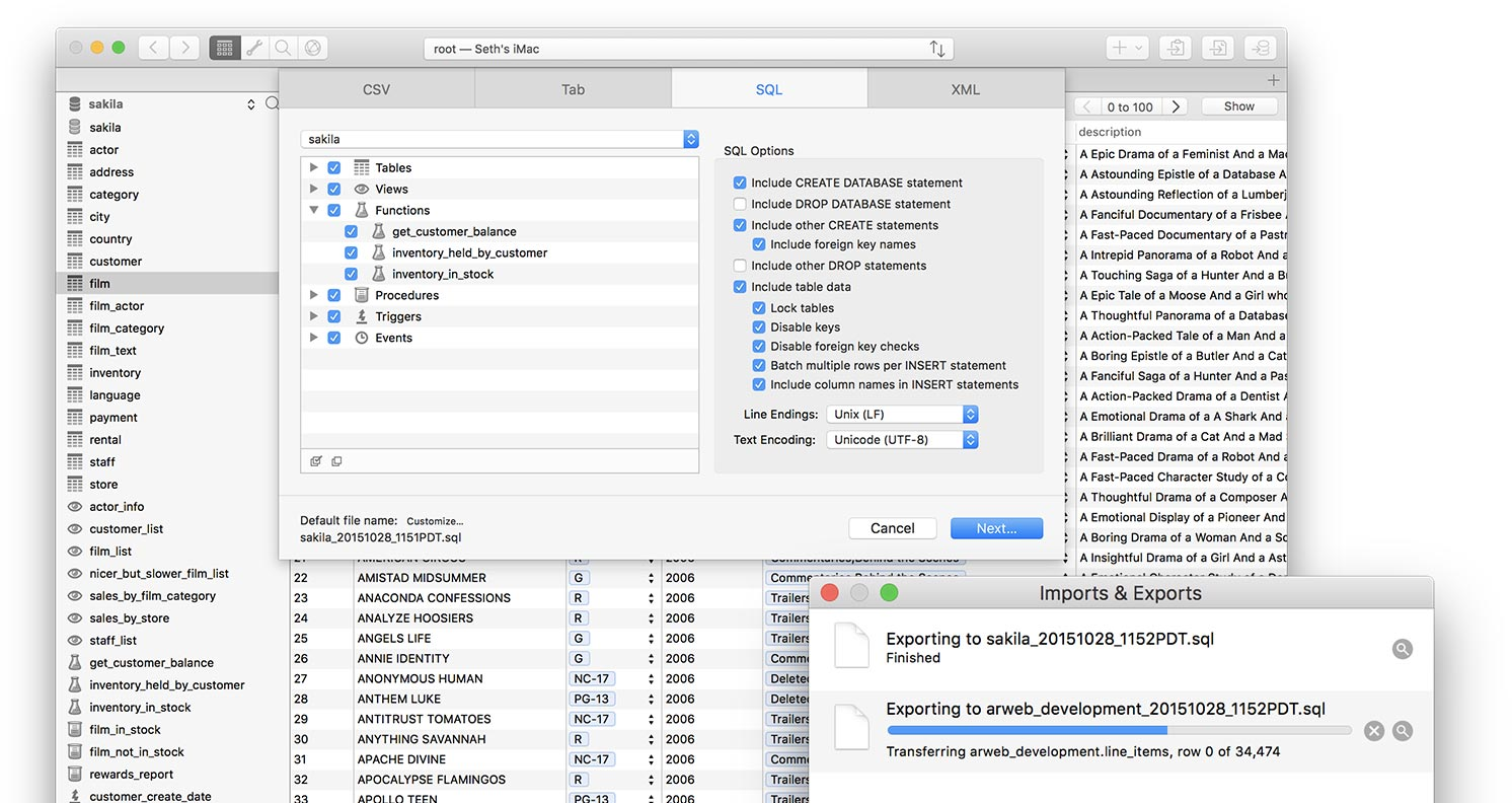 Querious - The best MySQL Tool for macOS