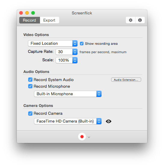How to make Mac screen recordings