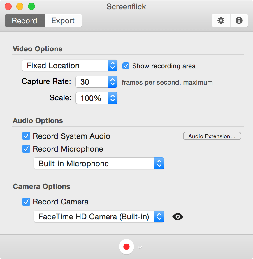 Screenflick – Mac Screen Recorder with Audio