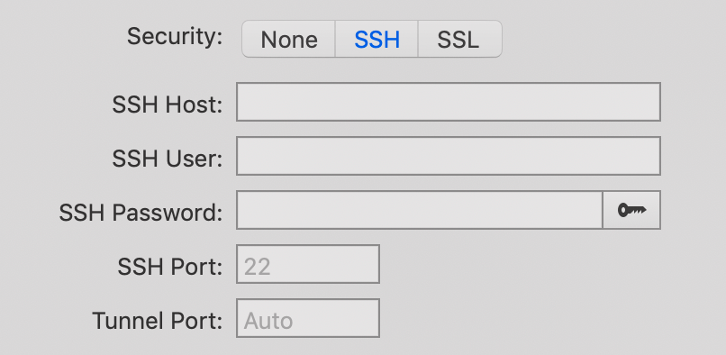 SSH Settings